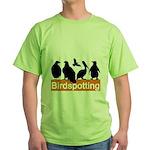 Birdspotting Green T-Shirt