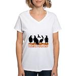 Birdspotting Women's V-Neck T-Shirt