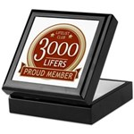 Lifelist Club - 3000 Keepsake Box
