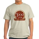 Lifelist Club - 3000 Light T-Shirt