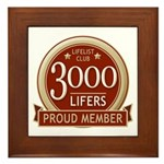 Lifelist Club - 3000 Framed Tile