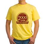 Lifelist Club - 2000 Yellow T-Shirt