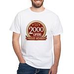 Lifelist Club - 2000 White T-Shirt