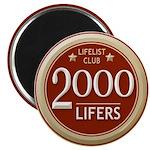 Lifelist Club - 2000 Magnet