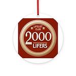 Lifelist Club - 2000 Round Medallion