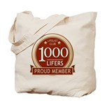 Lifelist Club - 1000 Tote Bag