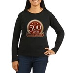 Lifelist Club - 500 Women's Long Sleeve Dark Tee