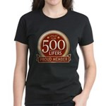 Lifelist Club - 500 Women's Dark T-Shirt