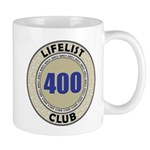 Lifelist Club - 400 Mug