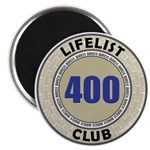 Lifelist Club - 400 Magnet
