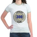 Lifelist Club - 300 Jr. Ringer T-Shirt