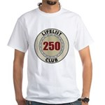Lifelist Club - 250 White T-Shirt