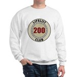 Lifelist Club - 200 Sweatshirt