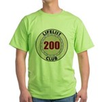 Lifelist Club - 200 Green T-Shirt