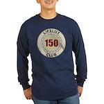 Lifelist Club - 150 Long Sleeve Dark T-Shirt