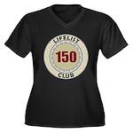 Lifelist Club - 150 Women's Plus Size V-Neck Tee