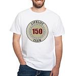 Lifelist Club - 150 White T-Shirt