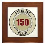 Lifelist Club - 150 Framed Tile