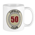 Lifelist Club - 50 Mug