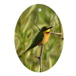 Little Bee-eater Oval Ornament