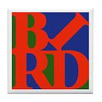 Pop Art Bird Tile Coaster