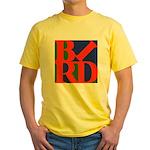Pop Art Bird Yellow T-Shirt