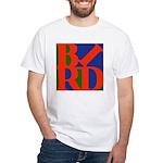 Pop Art Bird White T-Shirt
