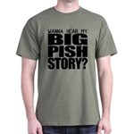 Big Pish Story Dark T-Shirt