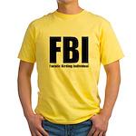 Fanatic Birding Individual Yellow T-Shirt