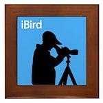 iBird (blue) Framed Tile