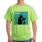 iBird (blue) Green T-Shirt