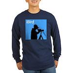 iBird (blue) Long Sleeve Dark T-Shirt
