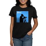 iBird (blue) Women's Dark T-Shirt