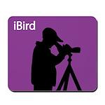 iBird (purple) Mousepad