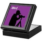 iBird (purple) Keepsake Box