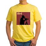 iBird (purple) Yellow T-Shirt