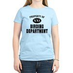 Property of Birding Dept. Women's Light T-Shirt