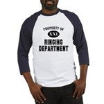 Property of Ringing Department Baseball Jersey