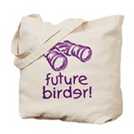 Future Birder Tote Bag