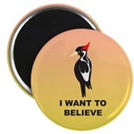 Simple Ivory-billed: I Want to Believe Magnet