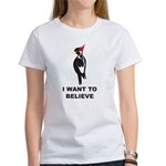 Simple IBWO: Want to Believe Women's T-Shirt