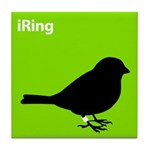 iRing (green) Tile Coaster