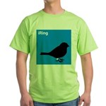 iRing (blue) Green T-Shirt