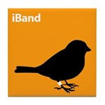 iBand (orange) Tile Coaster