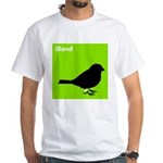 iBand (green) White T-Shirt