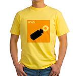 iPish (orange) Yellow T-Shirt