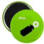 iPish (green) Magnet