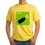 iPish (green) Yellow T-Shirt