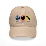 Peace Love Pish Cap