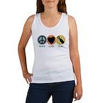 Peace Love Pish Women's Tank Top